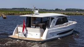 Мировая премьера Boarncruiser Elegance 1280 в Дюссельдорфе